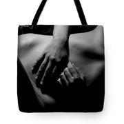 Hands At Rest Tote Bag by Joe Kozlowski