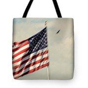 Happy Birthday America Tote Bag by Susanne Van Hulst
