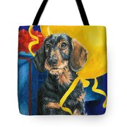 Happy Birthday Tote Bag by Barbara Keith