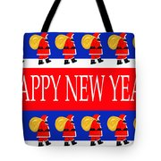 Happy New Year 7 Tote Bag by Patrick J Murphy