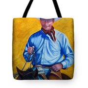 Happy Trails Tote Bag by Shannon Grissom
