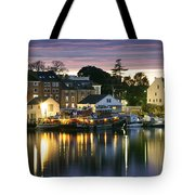 Harbor Lights Tote Bag by Eric Gendron