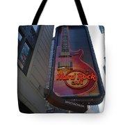 HARD ROCK CAFE N Y C Tote Bag by ROB HANS