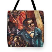 Harriet Tubman, Booker Washington Tote Bag by Photo Researchers