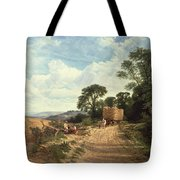 Harvest Time Tote Bag by George Vicat Cole
