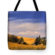 Harvested Tote Bag by David Patterson