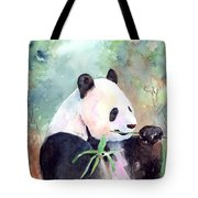 Having A Snack Tote Bag by Arline Wagner
