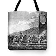 Hawaii: Canoe, 1779 Tote Bag by Granger