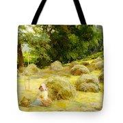 Haytime Tote Bag by Rosa Appleton