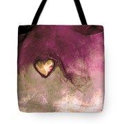 Heart Of Gold Tote Bag by Linda Sannuti