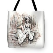 Heart To Heart Tote Bag by Rachel Christine Nowicki