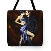 Held In Tango Tote Bag by Richard Young