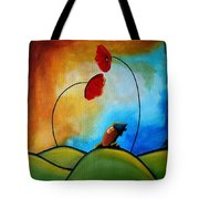 Hello Tote Bag by Cindy Thornton