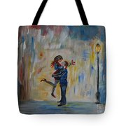 Hello My Honey Tote Bag by Leslie Allen
