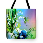 Hello There Tote Bag by Hanne Lore Koehler