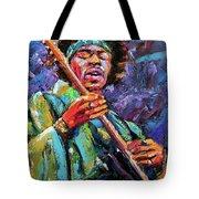 Hendrix Tote Bag by Debra Hurd