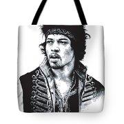 Hendrix No.02 Tote Bag by Caio Caldas