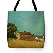 Henry House At Manassas Battlefield Park Tote Bag by Kim Hojnacki