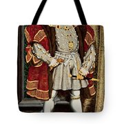 Henry VIII Tote Bag by Hans Holbein the Younger