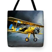 Here Comes The Sun Tote Bag by Marc Stewart