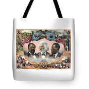 Heroes Of The Colored Race  Tote Bag by War Is Hell Store