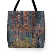 Heron Pond Twilight Tote Bag by Steve Gadomski
