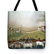 Hicks: Cornell Farm, 1848 Tote Bag by Granger