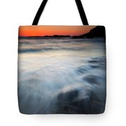 Hidden Beneath The Tides Tote Bag by Mike  Dawson
