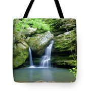 Hidden Falls 2 Tote Bag by Marty Koch