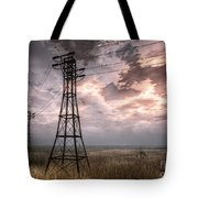 Highwire Tote Bag by Alina Davis