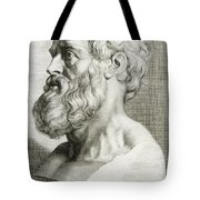 Hippocrates, Greek Physician Tote Bag by Science Source