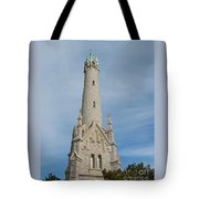Historic Milwaukee Water Tower Tote Bag by Ann Horn