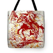History In Blood Tote Bag by J R Seymour