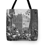 HOGARTH: BEER STREET Tote Bag by Granger