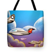Hold On Tight Tote Bag by Cindy Thornton