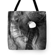 Hole in the Roof Tote Bag by Mike  Dawson