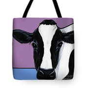 Holstein Tote Bag by Leanne Wilkes