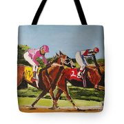 Home Stretch Tote Bag by Judy Kay