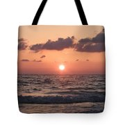 Honey Moon Island Sunset Tote Bag by Bill Cannon