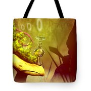 Hookah Smoking Caterpillar Tote Bag by Carol and Mike Werner