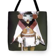 Hopi Kachina Doll Tote Bag by Granger
