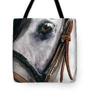 Horse Head Tote Bag by Nadi Spencer