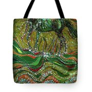Horse Rises From The Earth Tote Bag by Carol Law Conklin