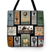 Hot Air Balloon Posters Tote Bag by Andrew Fare