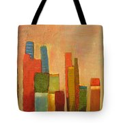 Hot Manhattan Tote Bag by Habib Ayat