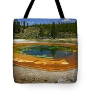 Hot Springs Yellowstone National Park Tote Bag by Garry Gay