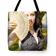 Hot Woman Tote Bag by Jorgo Photography - Wall Art Gallery