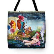 Hour Of The Cock Tote Bag by Otto Rapp