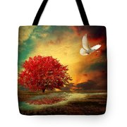 Hued Tote Bag by Lourry Legarde