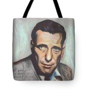 Humphrey Bogart  Not A Chess Piece Was Out Of Place Tote Bag by Kean Butterfield